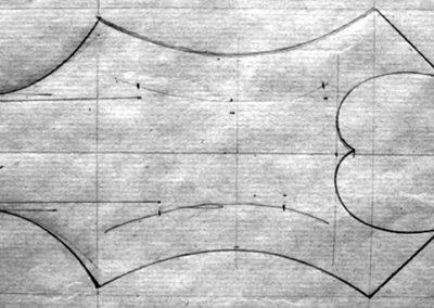 headstock pattern
